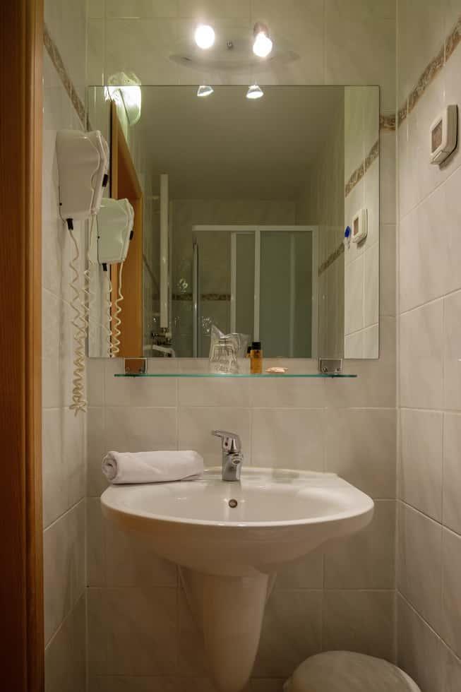 Jednokrevetna soba WC